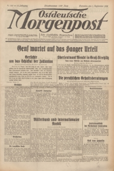 Ostdeutsche Morgenpost : erste oberschlesische Morgenzeitung. Jg.13, Nr. 241 (1 September 1931) + dod.