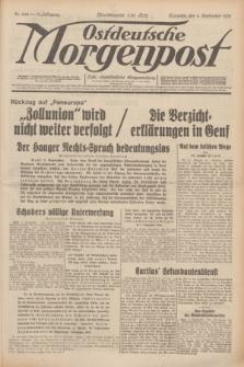 Ostdeutsche Morgenpost : erste oberschlesische Morgenzeitung. Jg.13, Nr. 244 (4 September 1931) + dod.