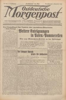 Ostdeutsche Morgenpost : erste oberschlesische Morgenzeitung. Jg.13, Nr. 246 (6 September 1931) + dod.