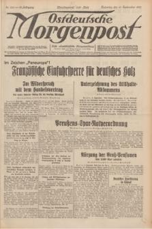 Ostdeutsche Morgenpost : erste oberschlesische Morgenzeitung. Jg.13, Nr. 250 (10 September 1931) + dod.
