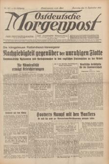 Ostdeutsche Morgenpost : erste oberschlesische Morgenzeitung. Jg.13, Nr. 257 (17 September 1931) + dod.