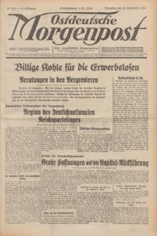 Ostdeutsche Morgenpost : erste oberschlesische Morgenzeitung. Jg.13, Nr. 259 (19 September 1931) + dod.