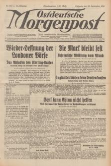 Ostdeutsche Morgenpost : erste oberschlesische Morgenzeitung. Jg.13, Nr. 263 (23 September 1931) + dod.