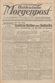 Ostdeutsche Morgenpost : erste oberschlesische Morgenzeitung. Jg.13, Nr. 267 (27 September 1931) + dod.