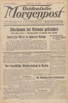 Ostdeutsche Morgenpost : erste oberschlesische Morgenzeitung. Jg.13, Nr. 268 (28 September 1931)
