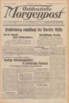 Ostdeutsche Morgenpost : erste oberschlesische Morgenzeitung. Jg.13, Nr. 269 (29 September 1931)