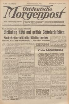 Ostdeutsche Morgenpost : erste oberschlesische Morgenzeitung. Jg.13, Nr. 279 (9 Oktober 1931)
