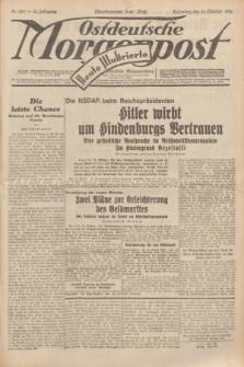 Ostdeutsche Morgenpost : erste oberschlesische Morgenzeitung. Jg.13, Nr. 281 (11 Oktober 1931) + dod.