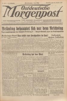 Ostdeutsche Morgenpost : erste oberschlesische Morgenzeitung. Jg.13, Nr. 284 (14 Oktober 1931)