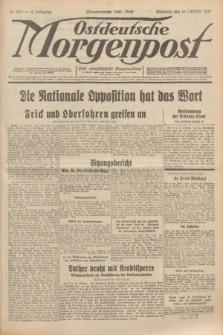 Ostdeutsche Morgenpost : erste oberschlesische Morgenzeitung. Jg.13, Nr. 285 (15 Oktober 1931)