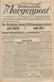 Ostdeutsche Morgenpost : erste oberschlesische Morgenzeitung. Jg.13, Nr. 286 (16 Oktober 1931)