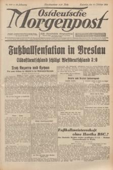 Ostdeutsche Morgenpost : erste oberschlesische Morgenzeitung. Jg.13, Nr. 289 (19 Oktober 1931)