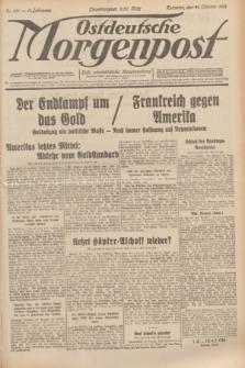 Ostdeutsche Morgenpost : erste oberschlesische Morgenzeitung. Jg.13, Nr. 291 (21 Oktober 1931)