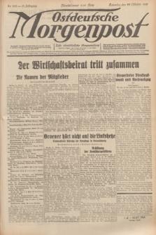Ostdeutsche Morgenpost : erste oberschlesische Morgenzeitung. Jg.13, Nr. 292 (22 Oktober 1931)