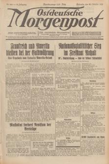 Ostdeutsche Morgenpost : erste oberschlesische Morgenzeitung. Jg.13, Nr. 296 (26 Oktober 1931)