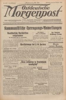 Ostdeutsche Morgenpost : erste oberschlesische Morgenzeitung. Jg.13, Nr. 299 (29 Oktober 1931)