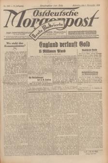 Ostdeutsche Morgenpost : erste oberschlesische Morgenzeitung. Jg.13, Nr. 302 (1 November 1931) + dod.
