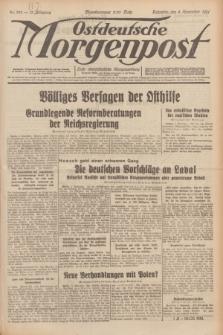 Ostdeutsche Morgenpost : erste oberschlesische Morgenzeitung. Jg.13, Nr. 304 (3 November 1931)