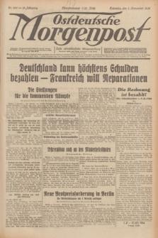 Ostdeutsche Morgenpost : erste oberschlesische Morgenzeitung. Jg.13, Nr. 306 (5 November 1931)