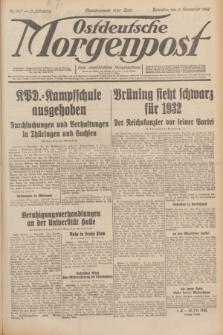 Ostdeutsche Morgenpost : erste oberschlesische Morgenzeitung. Jg.13, Nr. 307 (6 November 1931)