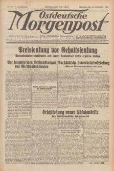 Ostdeutsche Morgenpost : erste oberschlesische Morgenzeitung. Jg.13, Nr. 311 (10 November 1931)