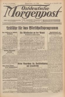 Ostdeutsche Morgenpost : erste oberschlesische Morgenzeitung. Jg.13, Nr. 314 (13 November 1931)