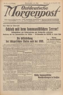 Ostdeutsche Morgenpost : erste oberschlesische Morgenzeitung. Jg.13, Nr. 315 (14 November 1931)