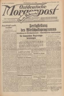 Ostdeutsche Morgenpost : erste oberschlesische Morgenzeitung. Jg.13, Nr. 323 (22 November 1931) + dod.