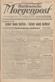 Ostdeutsche Morgenpost : erste oberschlesische Morgenzeitung. Jg.13, Nr. 324 (23 November 1931)