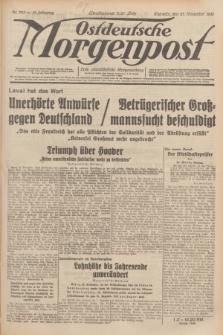 Ostdeutsche Morgenpost : erste oberschlesische Morgenzeitung. Jg.13, Nr. 328 (27 November 1931)
