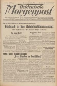 Ostdeutsche Morgenpost : erste oberschlesische Morgenzeitung. Jg.13, Nr. 331 (30 November 1931)