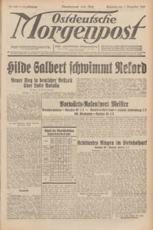 Ostdeutsche Morgenpost : erste oberschlesische Morgenzeitung. Jg.13, Nr. 338 (7 Dezember 1931)