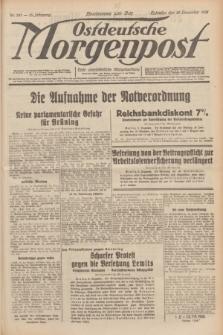 Ostdeutsche Morgenpost : erste oberschlesische Morgenzeitung. Jg.13, Nr. 341 (10 Dezember 1931)