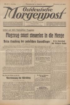 Ostdeutsche Morgenpost : Führende Wirtschaftszeitung. Jg.16, Nr. 249 (13 September 1934)