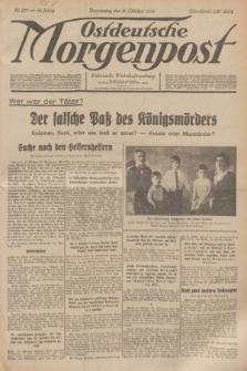 Ostdeutsche Morgenpost : Führende Wirtschaftszeitung. Jg.16, Nr. 277 (11 Oktober 1934)