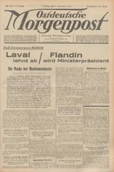Ostdeutsche Morgenpost : Führende Wirtschaftszeitung. Jg.16, Nr. 306 (9 November 1934)