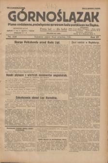 Górnoślązak : pismo codzienne, poświęcone sprawom ludu polskiego na Śląsku. R.27, nr 225 (28 września 1928) + dod.