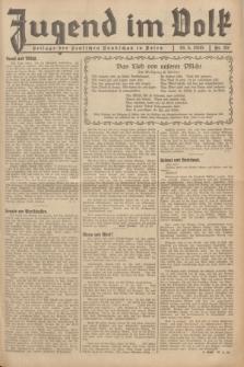 Jugend im Volk : Beilage der Deutschen Rundschau in Polen. 1935, Nr. 20 (19 Mai)