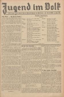Jugend im Volk : Beilage der Deutschen Rundschau in Polen. 1935, Nr. 23 (9 Juni)
