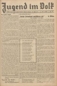 Jugend im Volk : Beilage der Deutschen Rundschau in Polen. 1935, Nr. 24 (16 Juni)