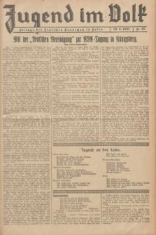 Jugend im Volk : Beilage der Deutschen Rundschau in Polen. 1935, Nr. 25 (23 Juni)