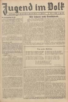 Jugend im Volk : Beilage der Deutschen Rundschau in Polen. 1935, Nr. 30 (28 Juli)