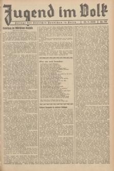 Jugend im Volk : Beilage der Deutschen Rundschau in Polen. 1935, Nr. 34 (25 August)