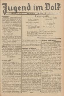 Jugend im Volk : Beilage der Deutschen Rundschau in Polen. 1935, Nr. 36 (8 September)