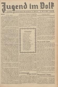 Jugend im Volk : Beilage der Deutschen Rundschau in Polen. 1935, Nr. 38 (22 September)