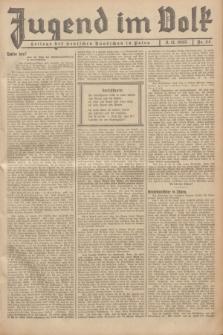 Jugend im Volk : Beilage der Deutschen Rundschau in Polen. 1935, nr 44 (3 November)