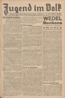 Jugend im Volk : Beilage der Deutschen Rundschau in Polen. 1936, Nr. 29 (26 Juli)