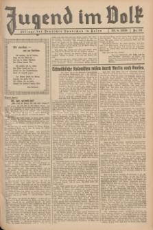 Jugend im Volk : Beilage der Deutschen Rundschau in Polen. 1936, Nr. 33 (23 August)