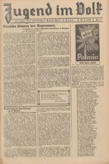 Jugend im Volk : Beilage der Deutschen Rundschau in Polen. 1938, Nr. 7 (13 Februar)