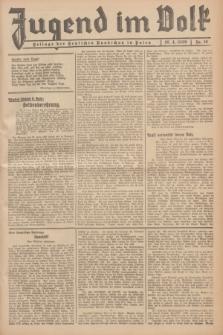 Jugend im Volk : Beilage der Deutschen Rundschau in Polen. 1939, Nr. 16 (16 April)